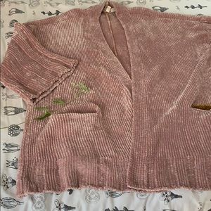 Anthropologie Chenille oversized Sweater